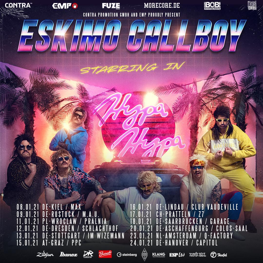 Eskimo Callboy Tour 2021