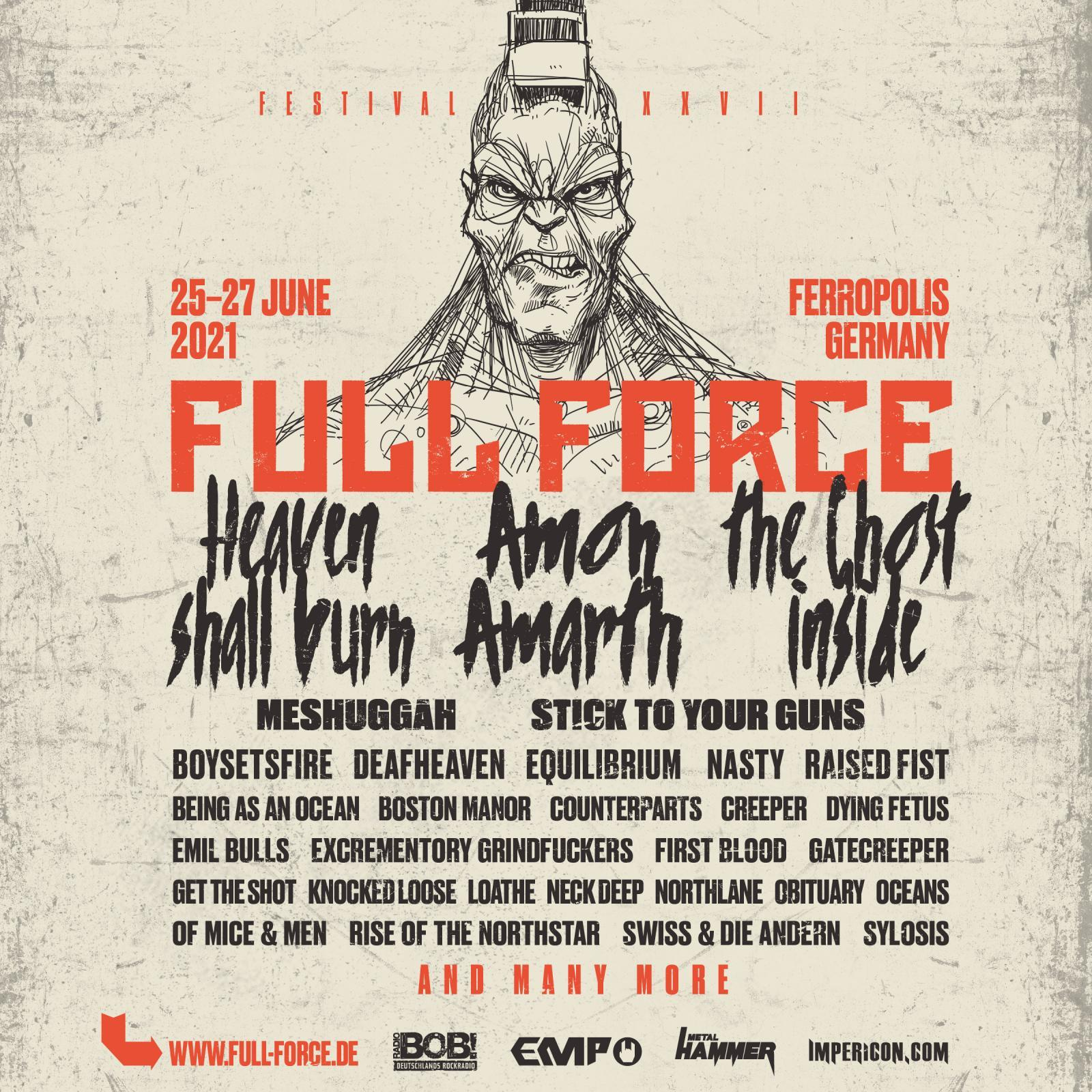 Full Force Festival Corona Coronavirus 2021 2020