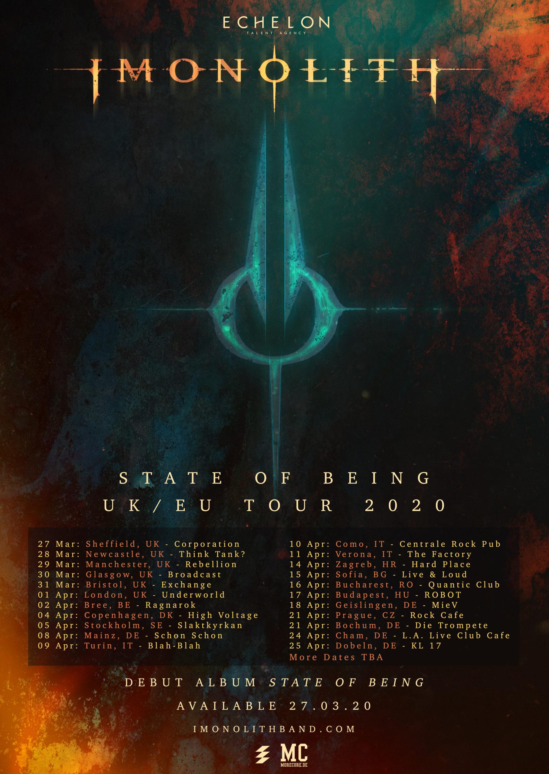 Imonolith Tour 2020