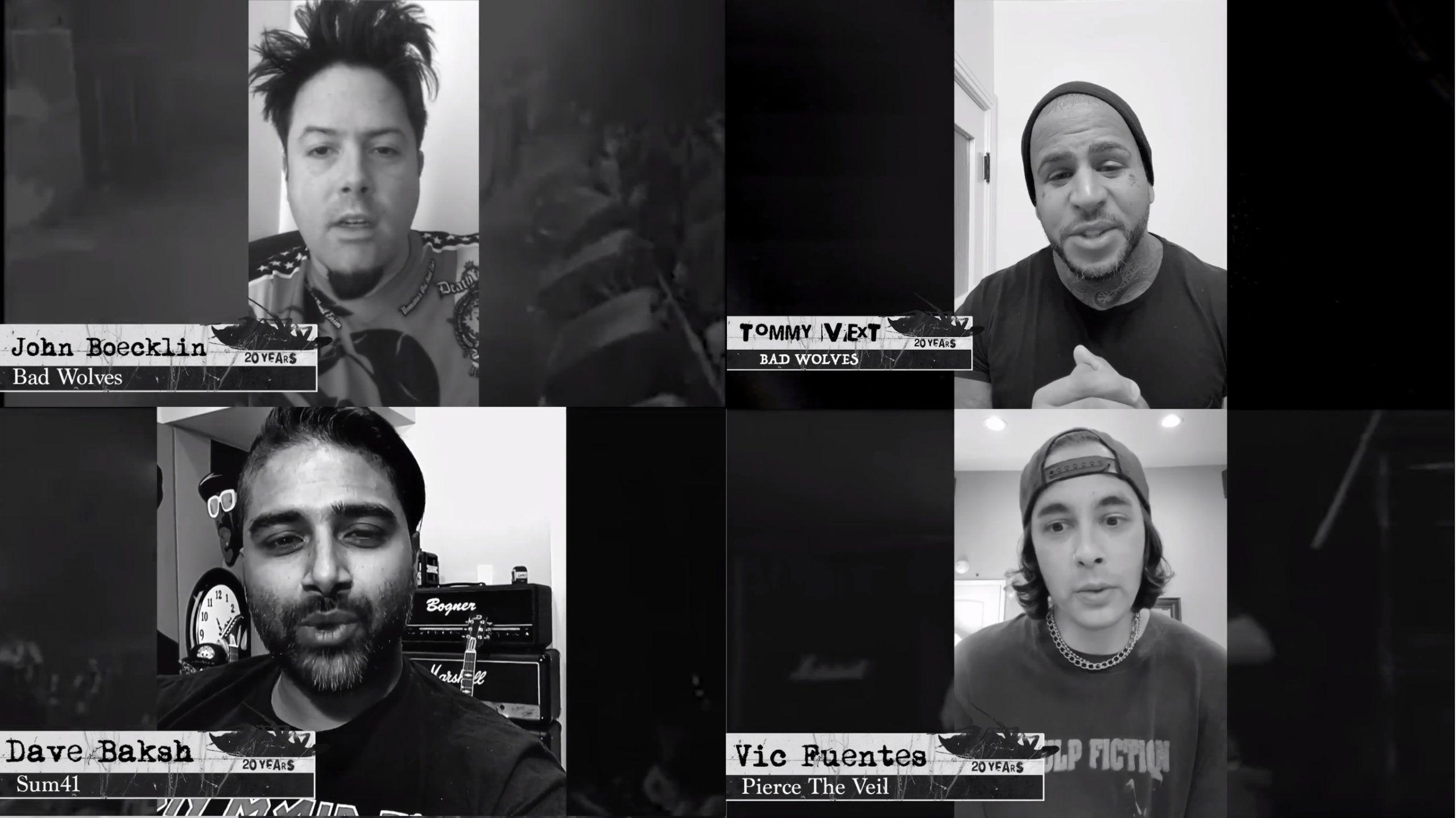 Papa Roach Bad Wolves Sum 41 Pierce The Veil