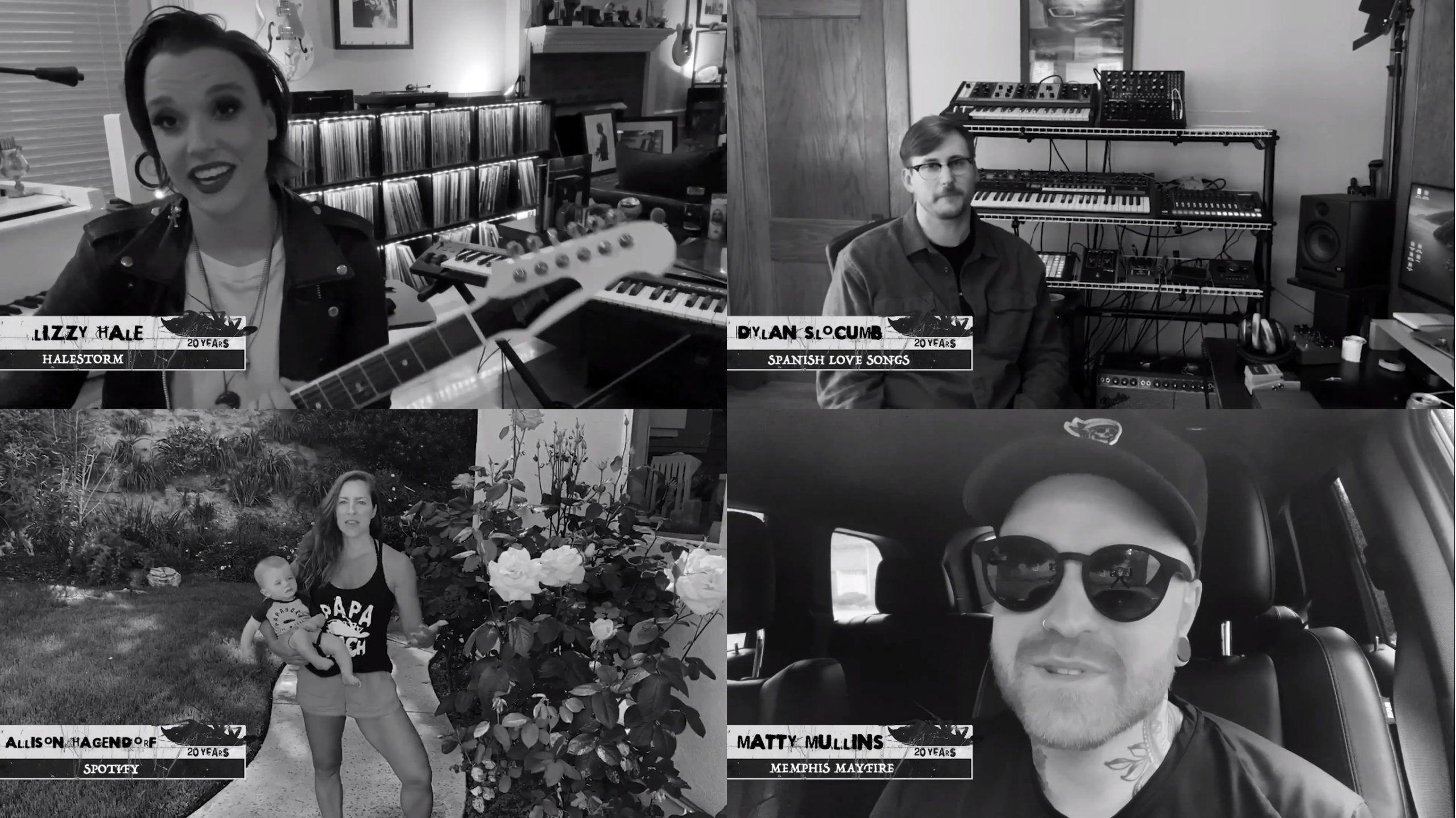 Papa Roach Halestorm Spanish Love Songs Memphis May Fire