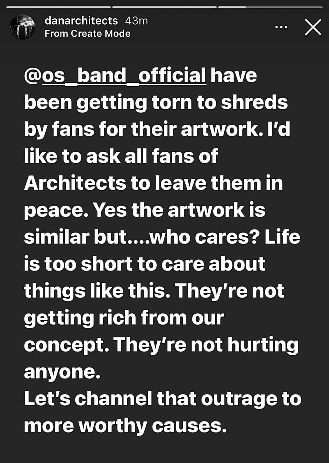 Architects OS Dan Searle