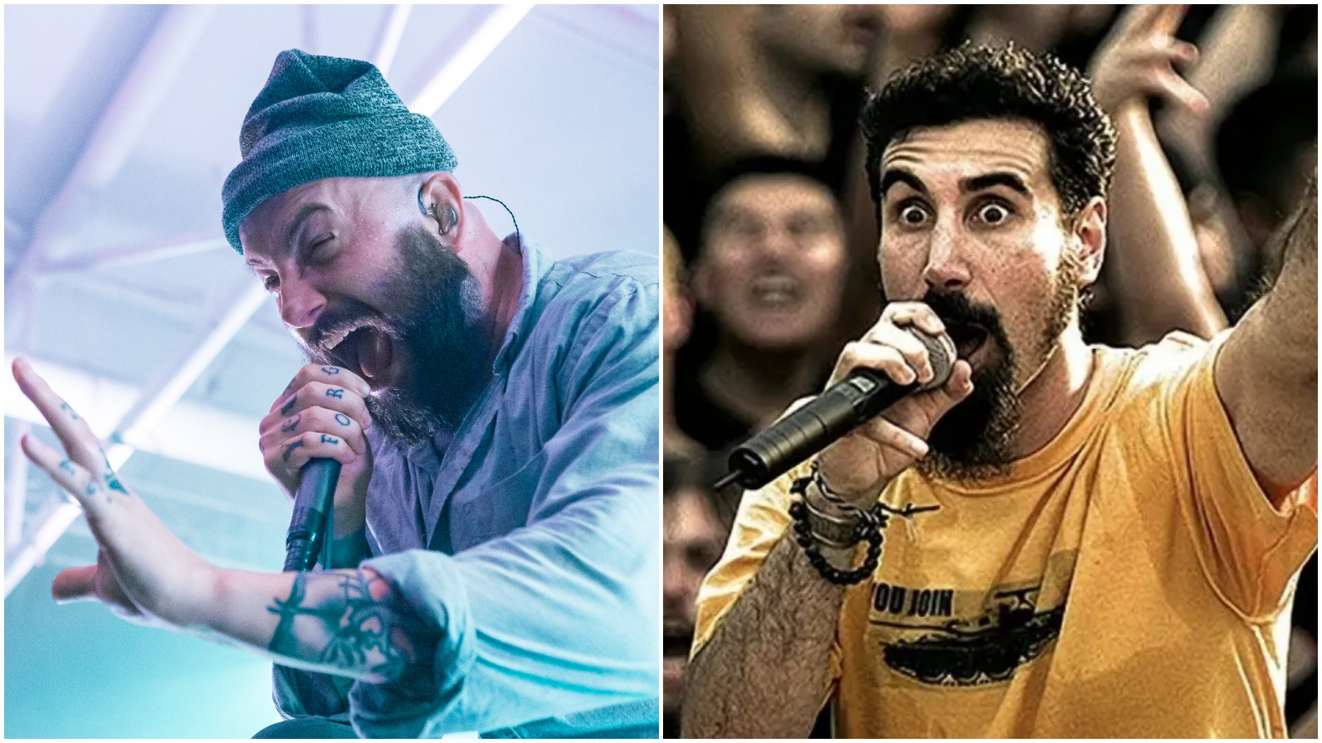 August Burns Red System Of A Down Chop Suey!
