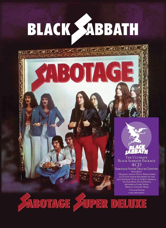 Black Sabbath Sabotage Super Deluxe Edition Remastered