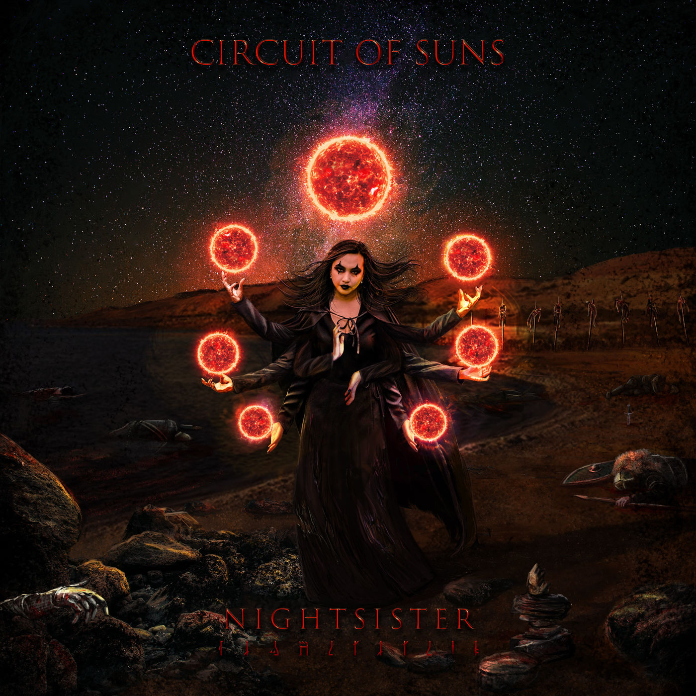 Circuit of Suns Night Sister EP