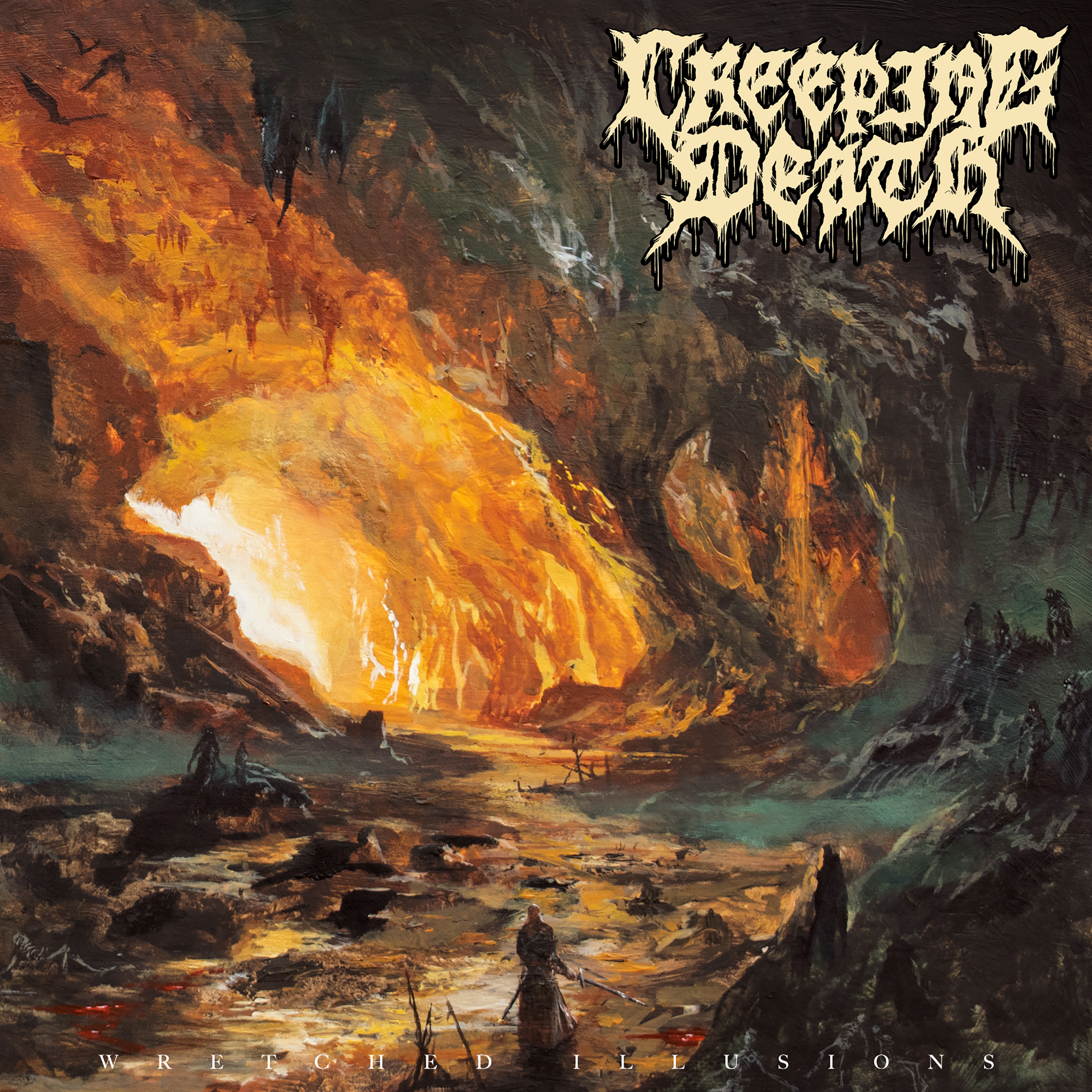 Creeping Death Wretched Illusions