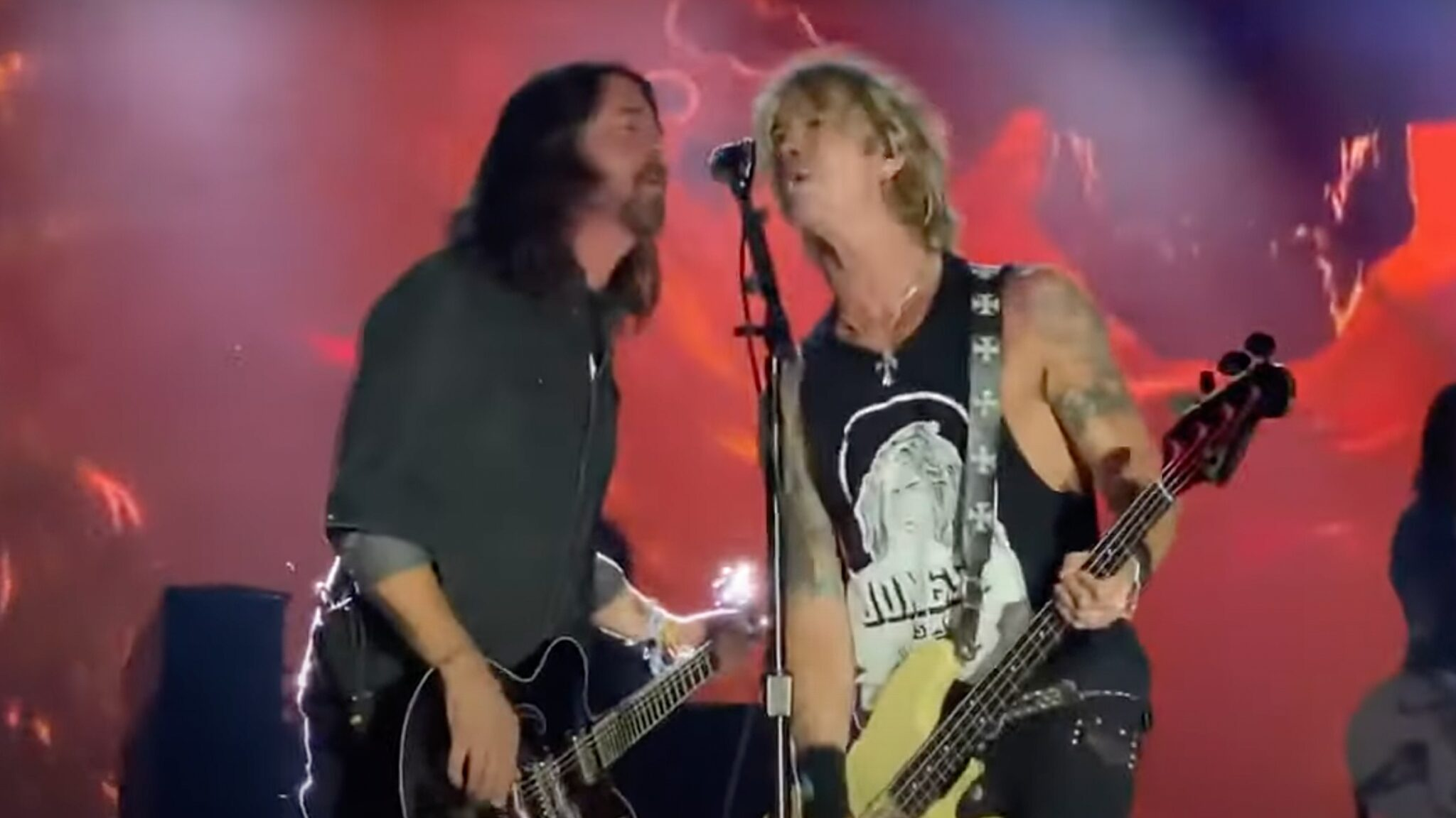 Guns N' Roses Dave Grohl Foo Fighters
