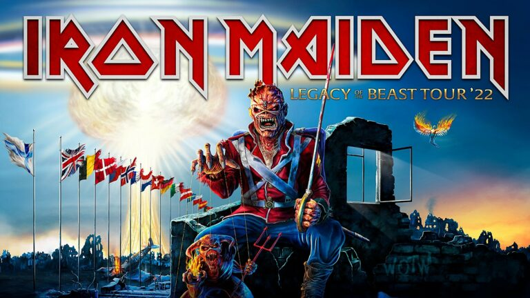 Iron Maiden Legacy Of The Beast Tour 2022