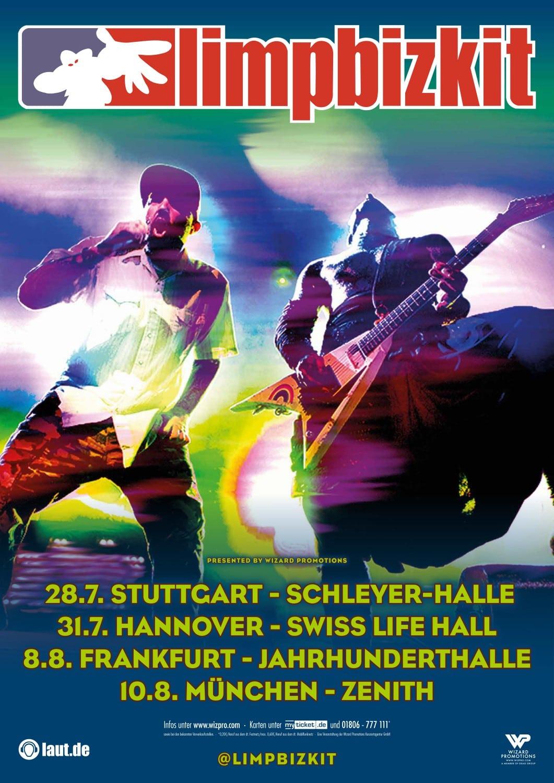 Limp Bizkit Tour 2022 Konzerte