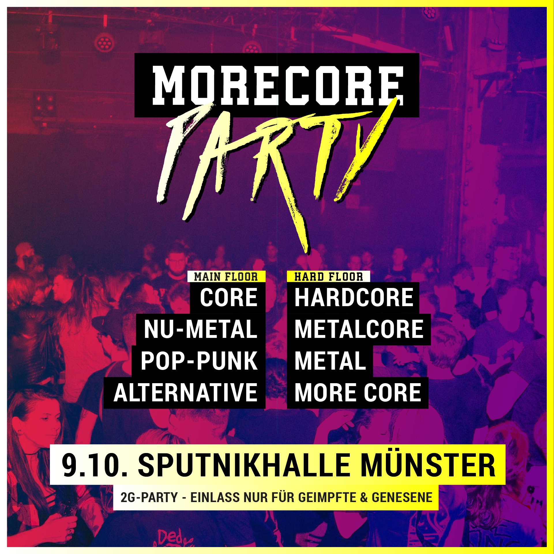 MoreCore Party Münster