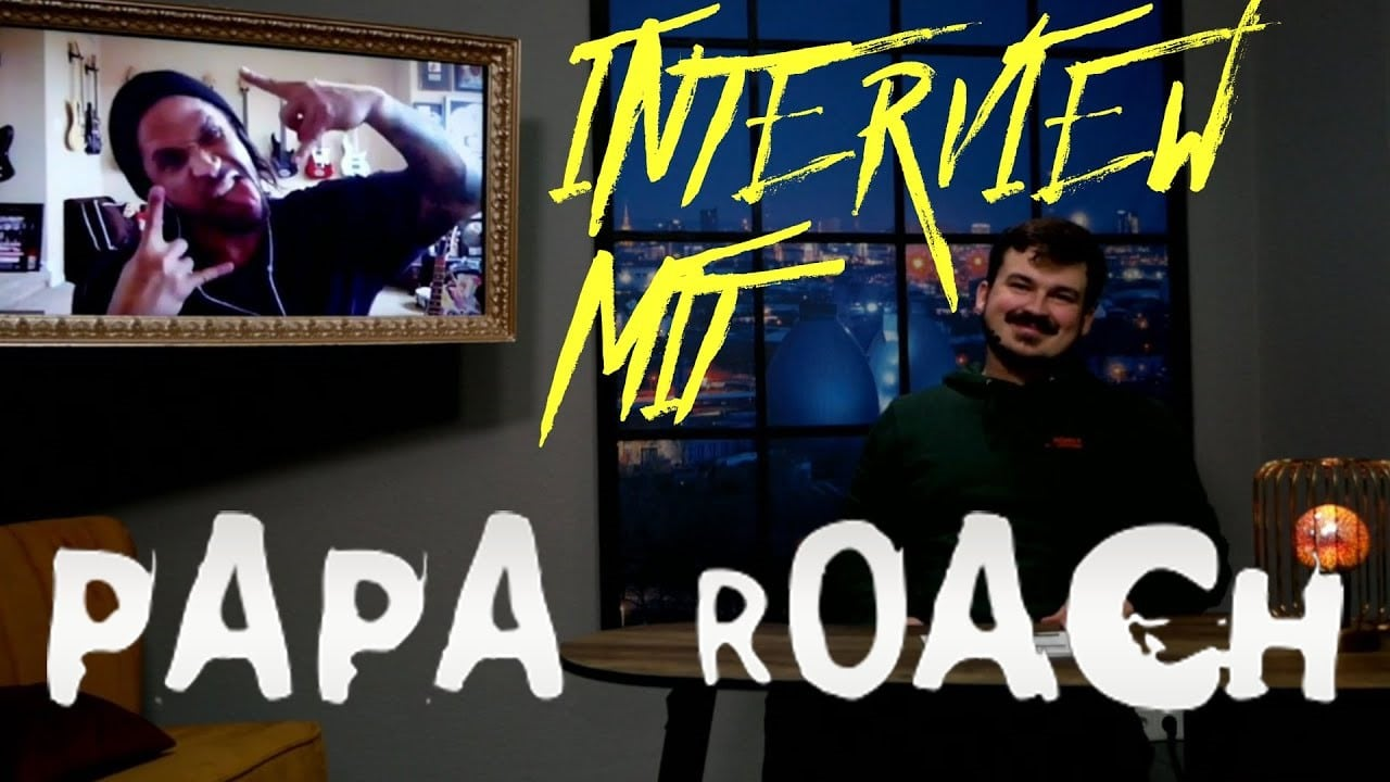 Papa Roach Tobin Esperance MoreCore TV