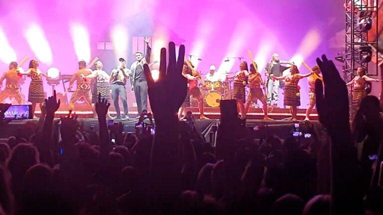 Neuseeland Six60 Corona Konzert