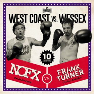 NOFX Frank Turner West Coast vs. Wessex Cover 2020
