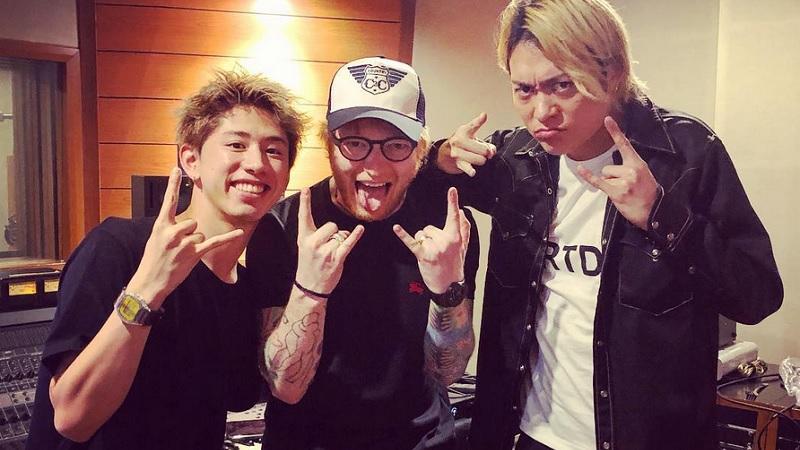 One Ok Rock Ed Sheeran