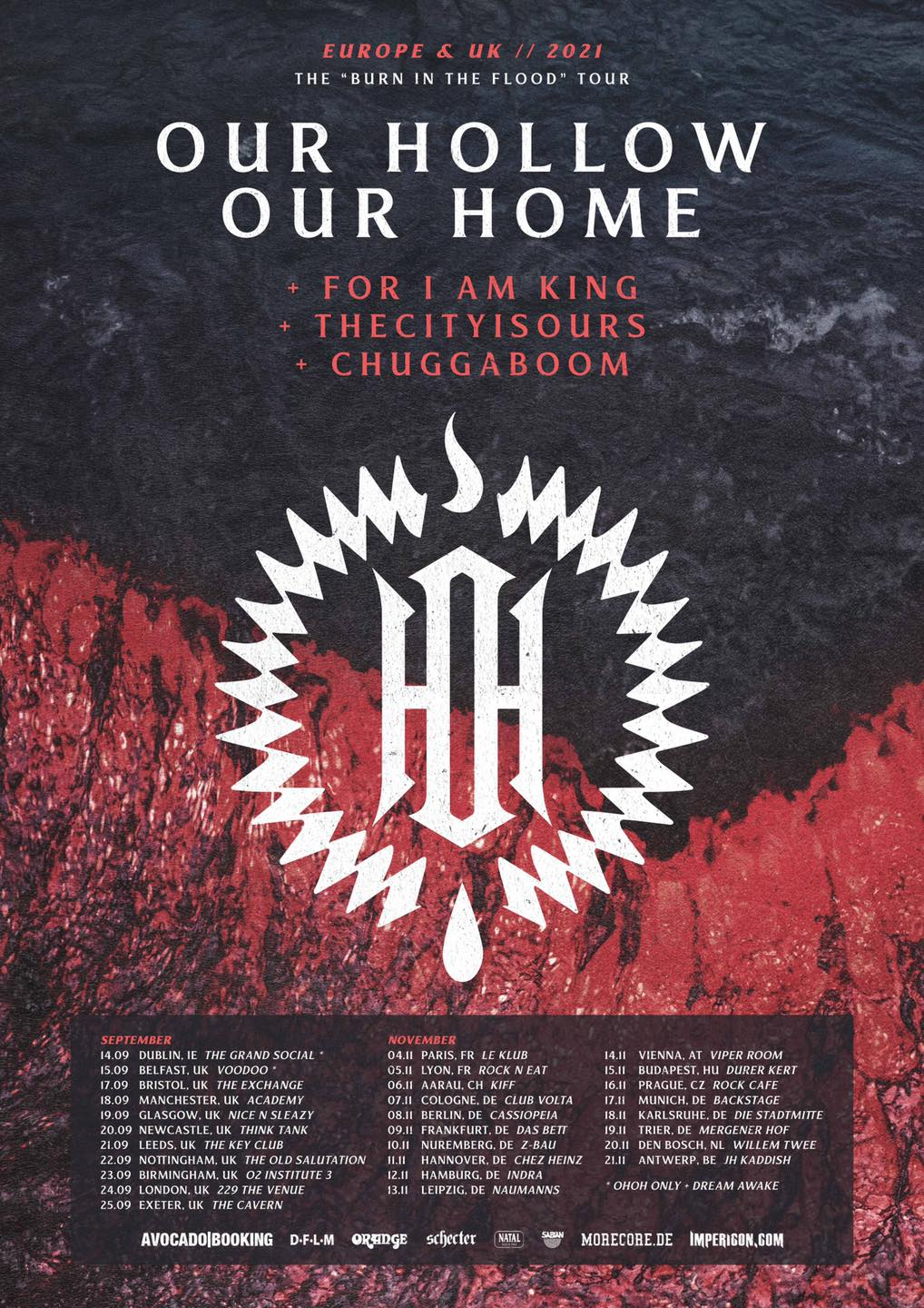 Our Hollow, Our Home Tour 2021 OHOH Tickets