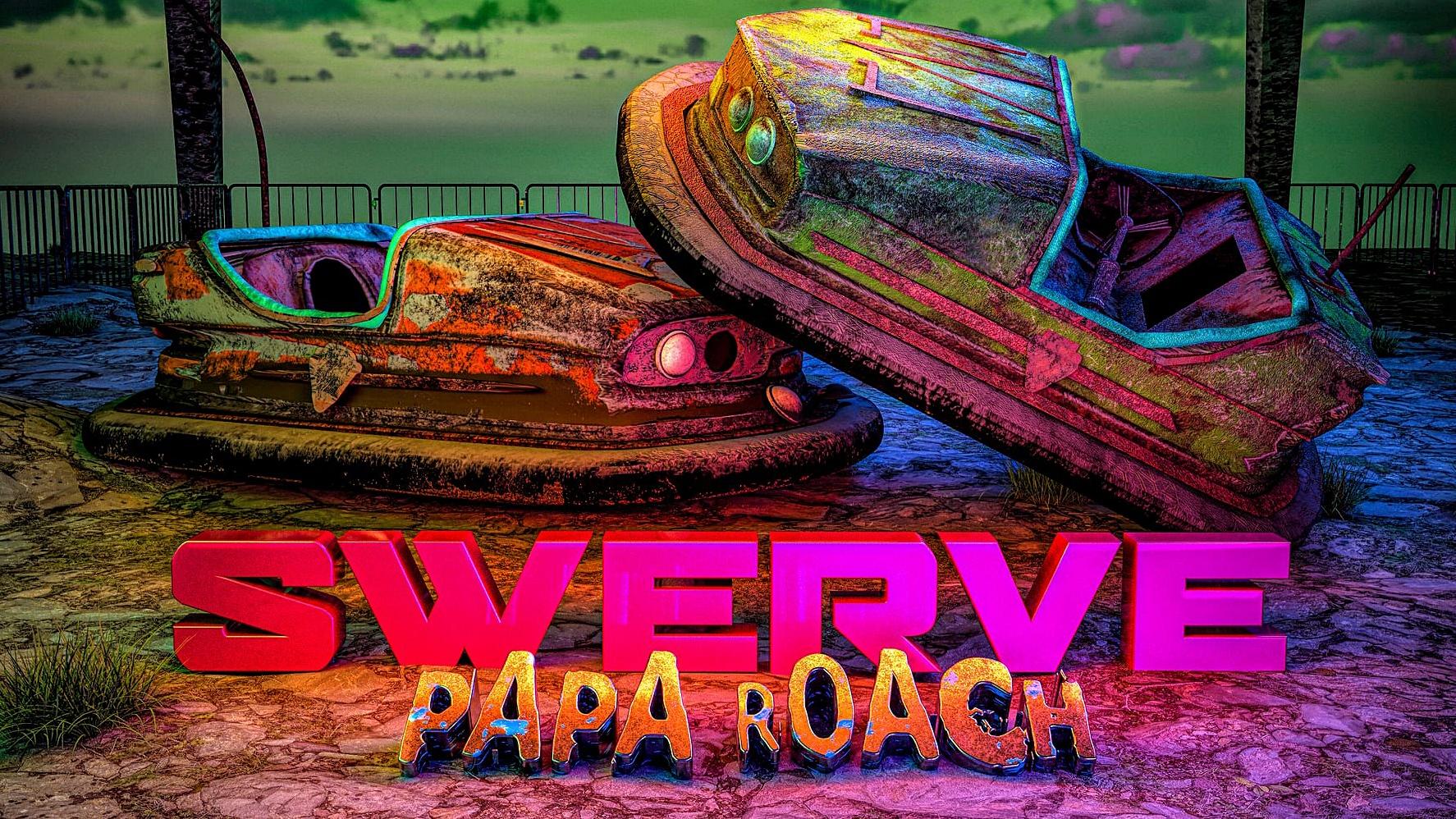 Papa Roach Fever 333 Jason Butler Sueco Swerve