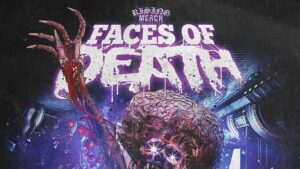 Rising Merch Faces Of Death Tour 2022