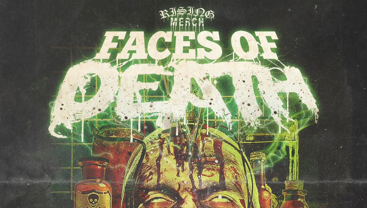 Rising Merch Faces Of Death 2020