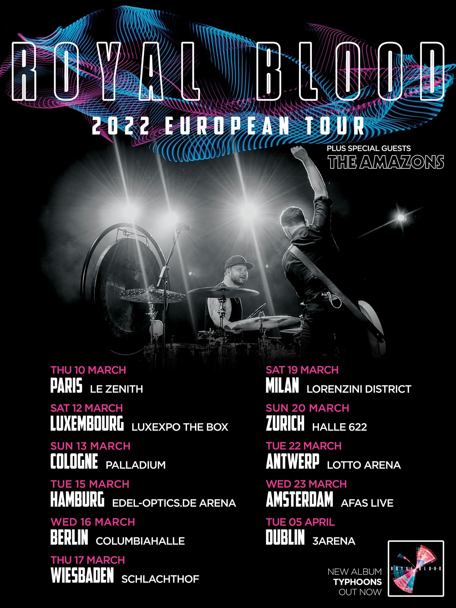 Royal Blood Tour 2022 Tickets Konzerte
