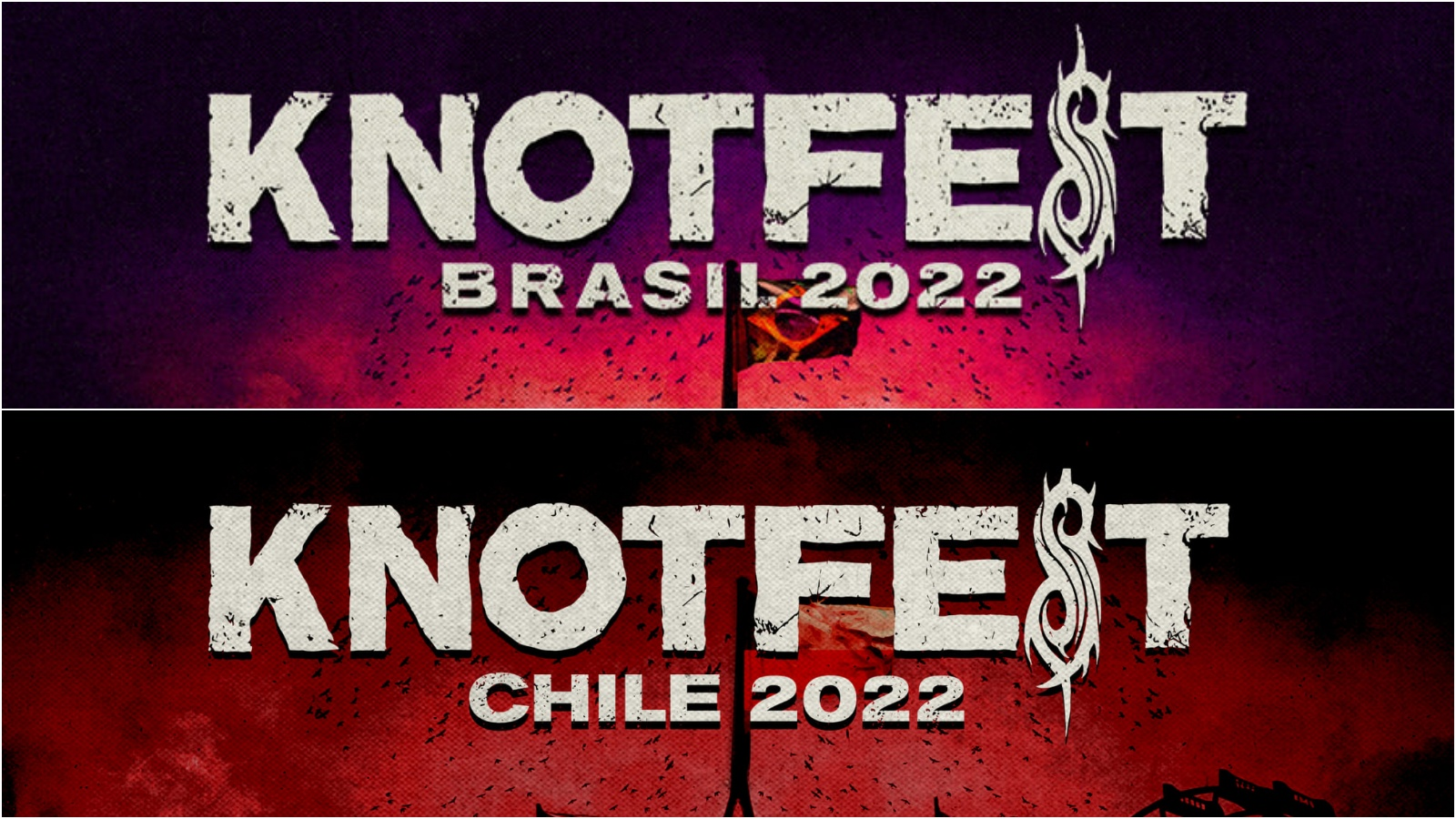 Slipknot Knotfest Chile Brasilien