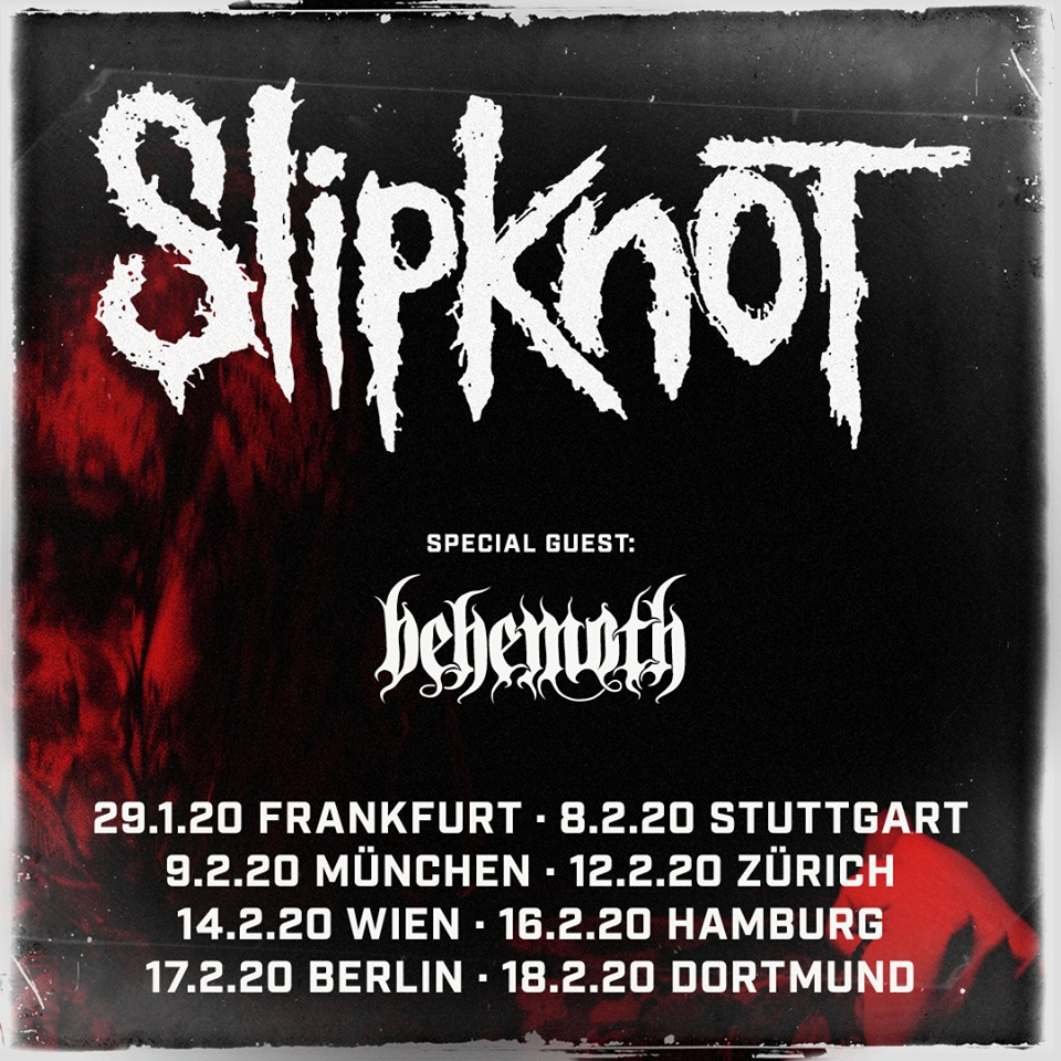 Slipknot Behemoth Tour 2020