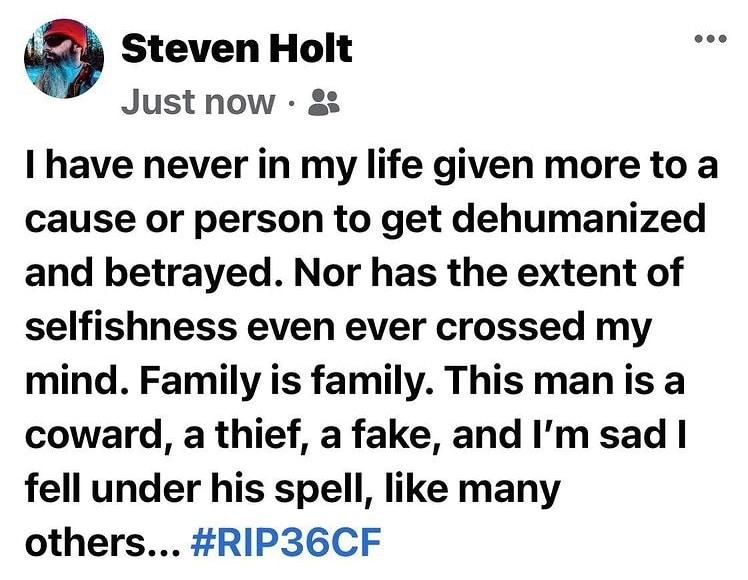 36 Crazyfists Steven Holt