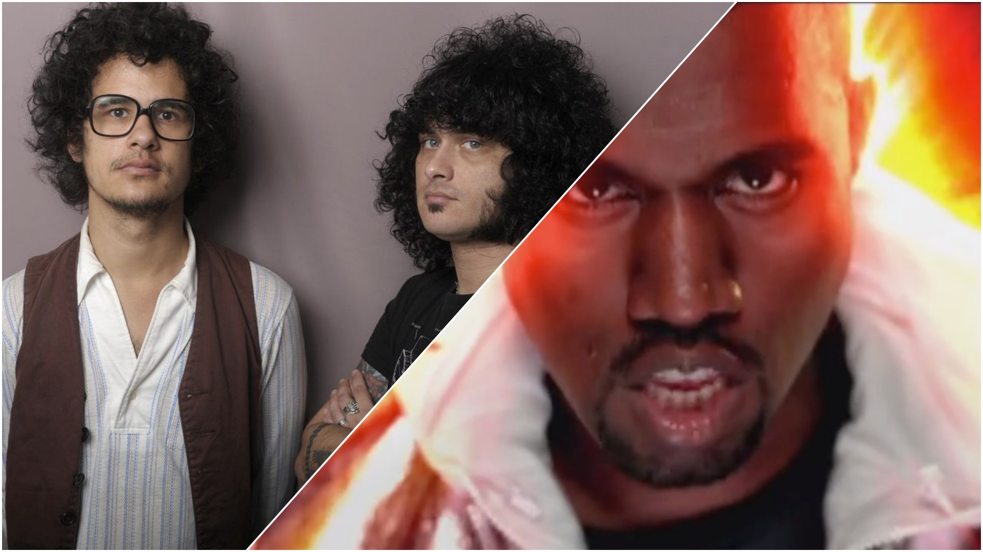 The Mars Volta Kanye West