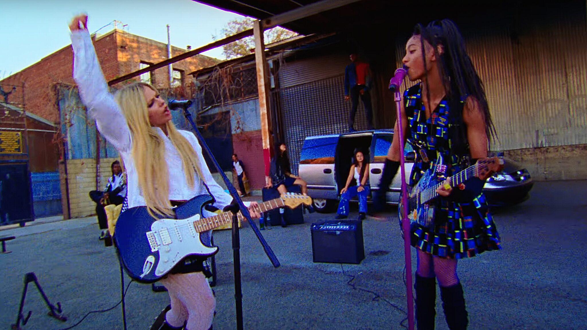 Willow Smith Avril Lavigne Travis Barker Blink-182